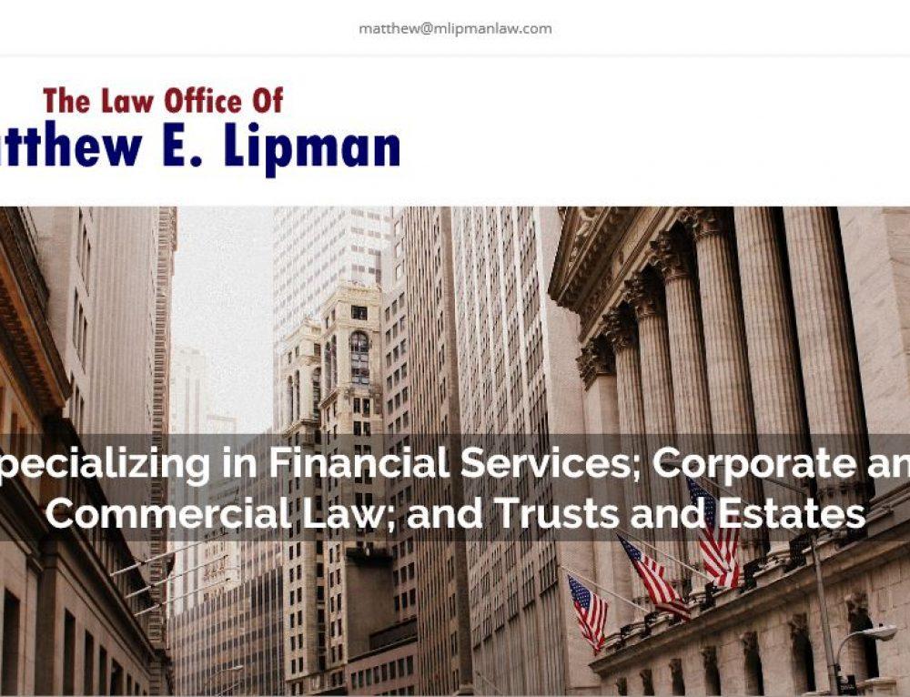 Matthew Lipman Law